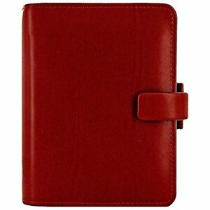 Filofax Pocket Metropol Organiser Red