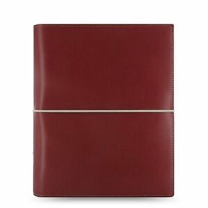 Filofax A5 Domino Red Organiser