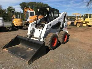 Bobcat S250 Skidsteer Wheel Loader W Steel Tracks