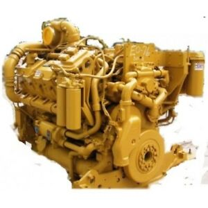Cat 3412 Industrial Diesel Engine All Complete And Run Tested