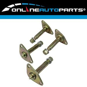 4 Greasable Leaf Spring Shackle Pin Suits Toyota Hilux Front Rear