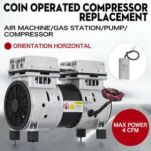 Coin Operated Compressor Air Machine Gas Station Replacement 50 150psi Rebuilt