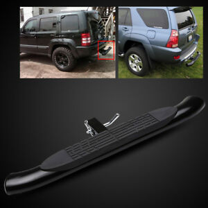 Universal 2 Receiver 37 4 Tube Black Trailer Tow Hitch Step Bar Bumper Guard