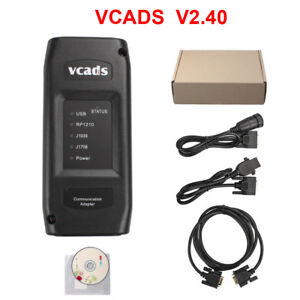 New For Volvo Truck Diagnostic Tool Volvo Vcads Pro 2 40 Version Update By Cd