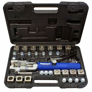 Mastercool 72475 prc Blue And Silver Universal Hydraulic Flaring Tool Set Wit