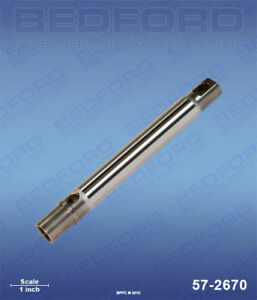 Graco A s m 240 518 Airless Paint Sprayer Piston Rod Plated Stainless
