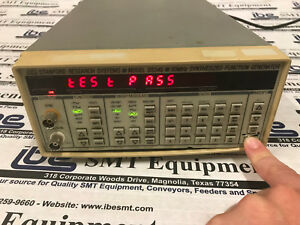 Stanford Research Systems Model Ds345 30mhz Synthesized Function Generator