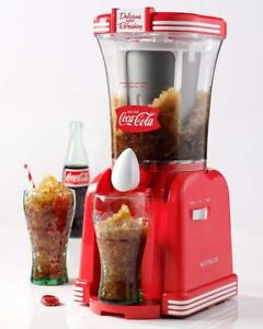 Coke Slush Drink Maker Frozen Slushy Machine Ice Slurpee Shaver Beverage Mixer