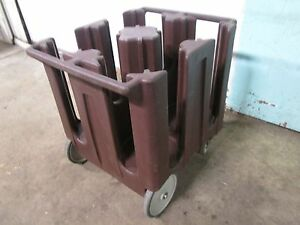 cambro Dc1125 Commercial H d Plate Holder dispenser carrier Poly Cart caddy