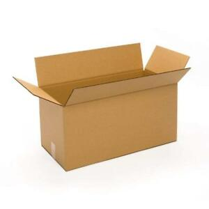 20 Pack 24x12x12 Cardboard Corrugated Box Packing Shipping Mailing Storage Flat