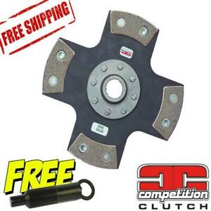 Competition Clutch 4 Puck Solid Disc For Toyota 1 8l 3tc W 22r Tran 99530 0420c