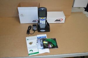 American Microsystems Ltd M5900 Barcode Scanner With Charging Cradle