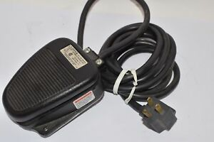New Linemaster 632 sc3 Clipper Foot Switch Electrical Single Pedal Momentary