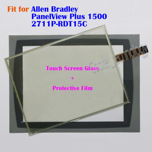 For Allen Bradley Panelview Plus 1500 2711p rdt15c Touch Screen Glass Film New