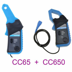 20ma To 65a Cc650 20ma To 65a Cc65 Ac dc Current Clamp Meter For Oscilloscope