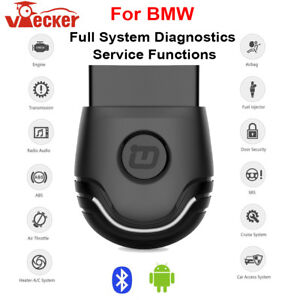 For Bmw Full Systems Diagnostic Tool Abs Srs Dpf Epb Reset Tool Scanner Android