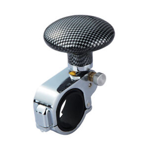 Auto Car Power Steering Wheel Ball Suicide Spinner Handle Knob Booster Durable