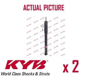 2 X Rear Axle Shock Absorbers Pair Struts Shockers Kyb Oe Quality 344462