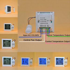 Digital Intelligent White Durable Humidity Temperature Controller 110 240v Bos