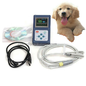 Handheld Veterinary Pulse Oximeter Cms60d vet Spo2 Tongue Probe pc Software usa