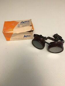 Airco Vintage Goggles For Welding And Cutting By Air Reduction Co Inc