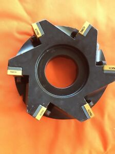 Kennametal Face Mill With Inserts