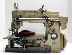Union Special 59300 Chainstitch 2 needle Ruffler Industrial Sewing Machine Head