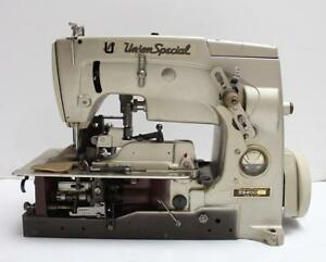 Union Special 59400 R Chainstitch Pinking Industrial Sewing Machine Head Only