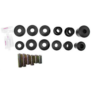 Prothane 6 312 Bl Mustang Rear Upper And Lower Control Arm Bushing Set 2005 2010