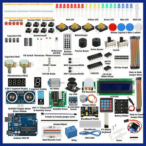 New Ultimate Starter Learning Kit For Arduino Uno R3 Lcd1602 Servo Processing