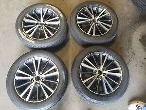 2014 2015 2016 2017 2018 Toyota Corolla 16 Inch Wheels Rims And Tires Set