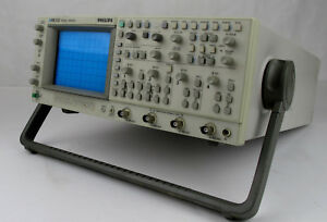 Phillips Pm 3382 4ch 100mhz 200ms s Analog digital Oscilloscope Acoutron