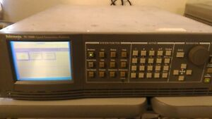 Tektronix Tg 2000 Signal Generation Platform W avg1 Bg1 Cpu Modules