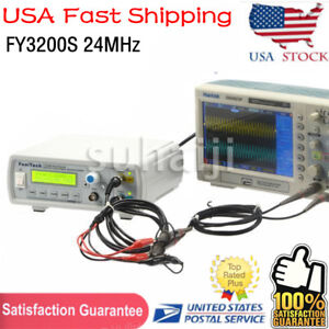 Fy3200s 24mhz Dual channel Arbitrary Waveform Dds Function Signal Generator Usa