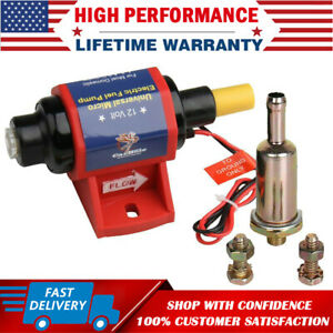 4 7 Psi 12v Universal Micro Electric Fuel Transfer Booster Diesel Pump 35 Gph