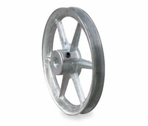 1 Fixed Bore 1 Groove V belt Pulley 12 Od Congress N14