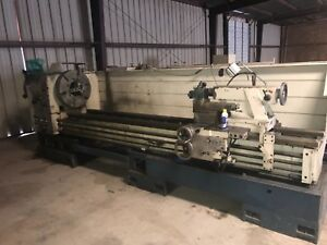 30 9 X 120 Summit 9 Big Hole Hollow Spindle Oil Field Engine Lathe