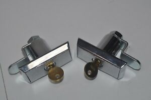 New Lot Of 3 Compx Chicago Vending T handle Lock W Cylinder W 1075x Key