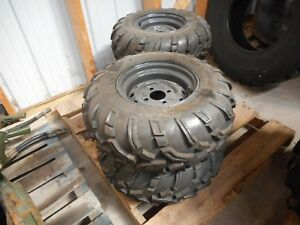 Kubota Atv Tires 25x10 12 6 Ply Set Of 4