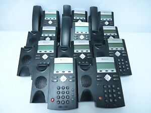 Lot Of 11 Polycom Soundpoint Ip 331 2201 12365 001 Rev 2 Line