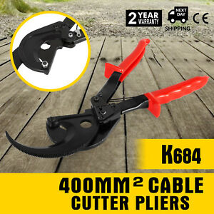 Ratchet Cable Cutter Cut Awg 600mcm Ratcheting Wire Cut Hand Tool Up To 400mm2