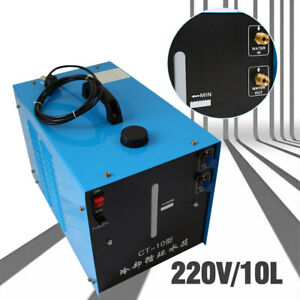 Powercool 220v Tig Welder Torch Welding Cycle Water Cooling Tank Cooler 10l