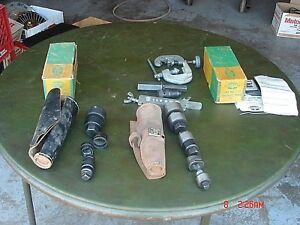 2 Vintage Greenlee 735 Knockout Punch Set Lot Etc Ar