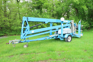 2011 Genie Tz50 Towable Boom Lift 50 Lift Manlift Jlg T500j
