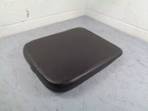 02 08 Dodge Ram Black Center Console Lid Door Armrest Arm Rest Cushion No Rips