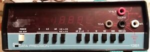 Data Precision Multimeter 1351 Ac Dc Volts Ohms Amps Used Nice Clean Working