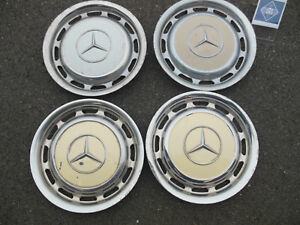 Mercedes R107 W108 W114 14 Inch Four Wheel Cover Hub Cap Hubcap Set B108116 Rk