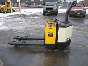 2003 Crown Forklift Electric 6000 Walk Behind Jack 48 Forks Hd Lift