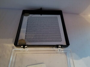 3 x3 Photomask Plate With Pattern Semiconductor Silicon Wafer