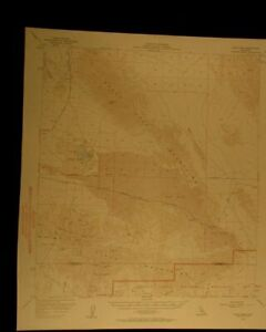 Dale Lake California 1958 Vintage Usgs Topographical Chart Map